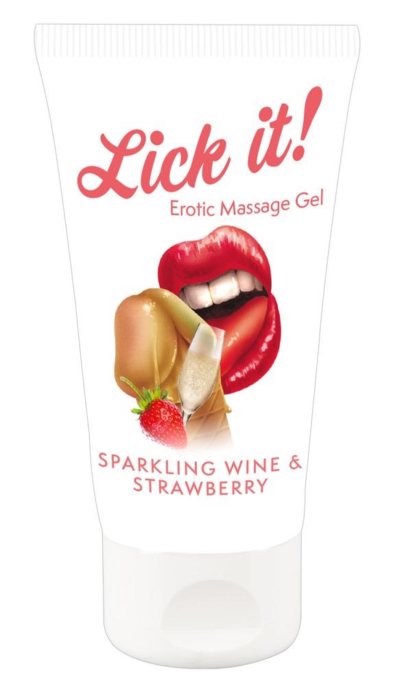 Lick-it Sparkling Wine & Strawberry 50ml