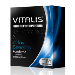 Vitalis Premium Delay & Cooling 3ks