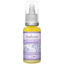 Saloos Bio regenerační obličejový olej Levandule 20ml