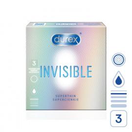Durex Invisible Superthin 3 pack