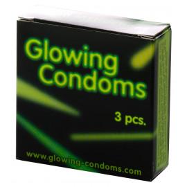 Dansex Glowing Condoms 3 pack