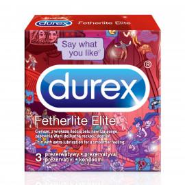 Durex Fetherlite Elite Emoji 3 pack