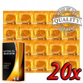 Vitalis Premium Ribbed 20ks