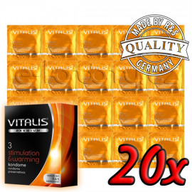 Vitalis Premium Stimulation & Warming 20ks
