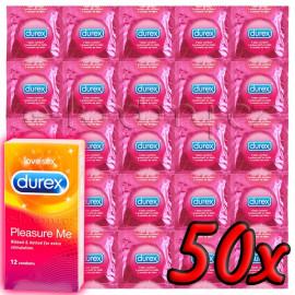 Durex Pleasure Me 50ks