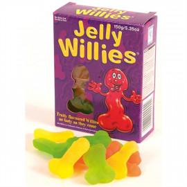 Jelly Willies - Želatinové bonbony ve tvaru penisu 150g