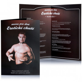 Erotická hra Menu pro dva erotické chutě