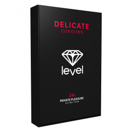 Level Delicate Condoms 24 pack