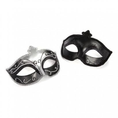 Fifty Shades of Grey Masquerade Mask Twin Pack - Sada dvou luxusních masek na oči