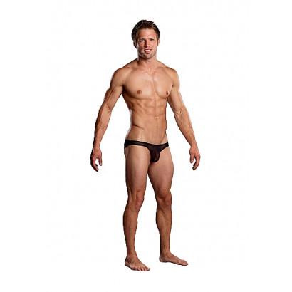 Male Power Pouch Bikini Černá
