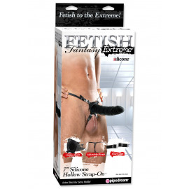 "Fetish Fantasy Extreme 7"" Silicone Hollow Strap-On"