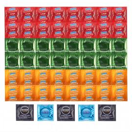 Luxusný Balíček väčších kondómov - 53 XL kondómov vrátane poštovného