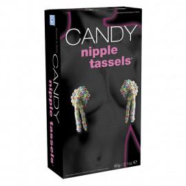 Candy Nipple Tassels - Senzačné jedlé bonbóniky na bradavky