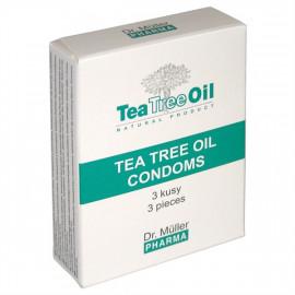 Dr. Müller Kondomy s Tea Tree Olejom 3ks