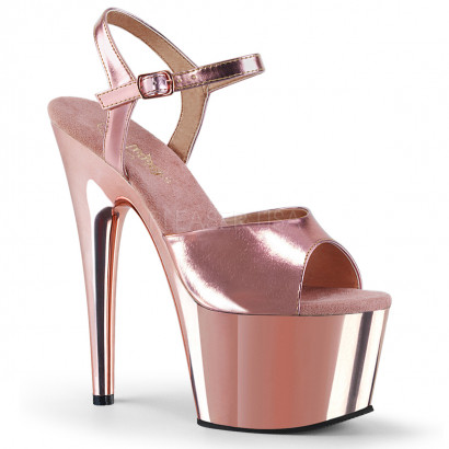 Pleaser Adore-709 Rose Gold