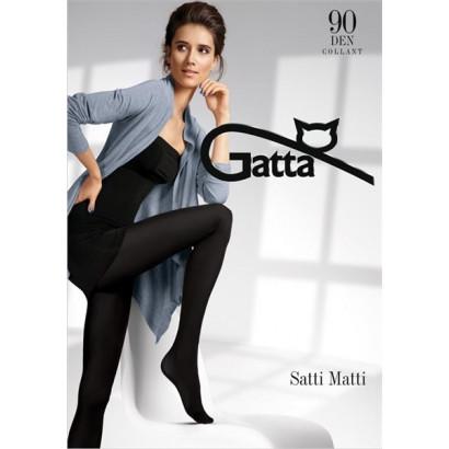 Gatta Satti Matti 90 - Pančuchové nohavice Nero