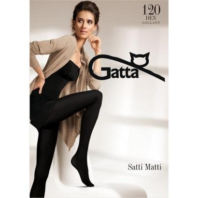 Gatta Satti Matti 120 - Pančuchové nohavice Nero
