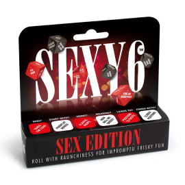 Creative Conceptions Sexy 6 Dice Sex Edition English Version