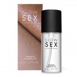 Bijoux Indiscrets Slow Sex Warming Massage Oil 50ml