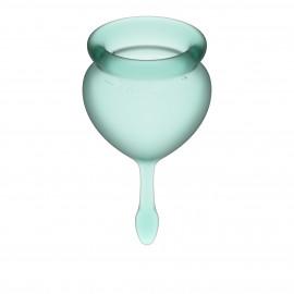 Satisfyer Feel Good Menstrual Cup Dark Green