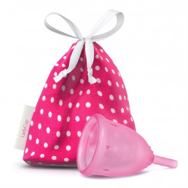 LadyCup S(mall) LUX Menstrual Cup Small Pink 1 pc