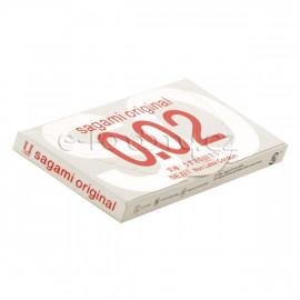 Sagami Original 0.02 2 pack