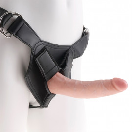 "Pipedream King Cock Strap-on Harness w/ 7"" Cock - Strap On Penis 18cm Body"