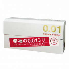 Sagami Original 0.01 3 pack