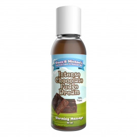Vince & Michaels Flavored Massage Oil Intense Chocolate Fudge Dream 50ml